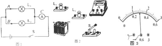 """在""""探究并联电路的电流规律""""实验中"""