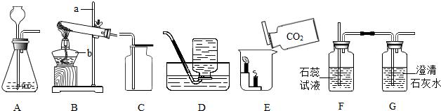 e是初中化学中常见的五种物质