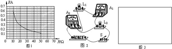 (3)闭合s 1,s 2,s 3,画出此时的等效电路图,调节电源电压为18v,求