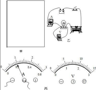 中电流的大小 d,在电路中接入电压表