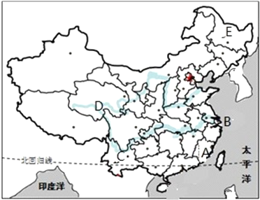 """读""""中国行政区划图"""",回答问题"""
