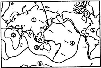 """(1)在世界""""七大洲,四大洋""""中, 面积最大的大洲是  洲(填字母)"""