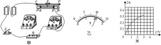 5v的小灯泡电阻的实验中