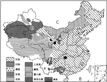 手绘创意中国地形