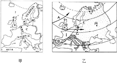 正确的是(  ) ①欧洲西部海岸线曲折,多内海,半岛,海湾 ②欧洲西部
