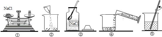 实验室用氯化钠_实验室配制50g质量分数为6%的 氯化钠 溶液