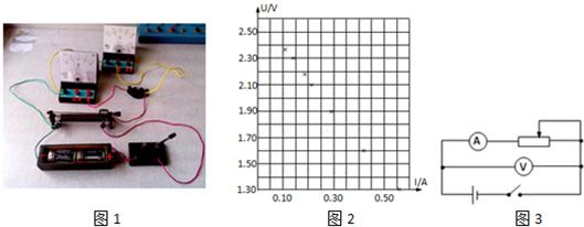 61v,并非如该同学猜测 由实验数据得小灯泡两端电压为1.8v时电流为0.