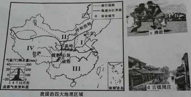 都江堰纯手绘图