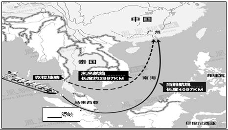 泰国的克拉地峡位于泰国南部马来半岛上,两侧海域分属太平洋与印度洋,地峡最窄处不足100千米,而且地势不高,开凿运河基本不需要象巴拿马运河那样调剂水位,开凿的相对成本和运营成本图片