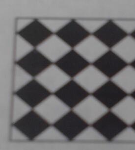 如图,有一边长为8米的正方形大厅,它是由完全相同的黑白方砖密铺而成