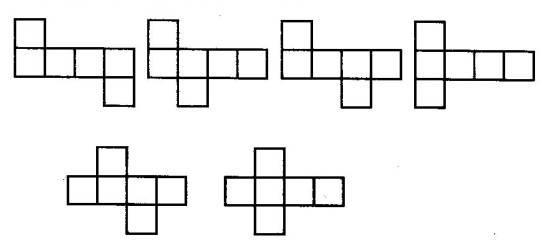 正方体的11中展开图请展示